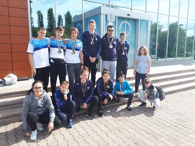 190512 Plivaci KVS Leotar na MPM Sarajevo Aquatics sprint 2019